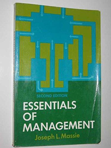 9780132863773: Essentials of Management