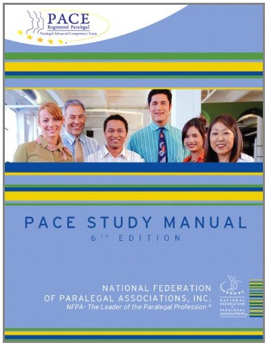 9780132864336: PACE Study Manual (6th Edition)
