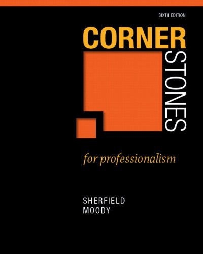 9780132864619: Cornerstones for Professionalism Plus NEW MyStudentSuccessLab 3.0 (2nd Edition)