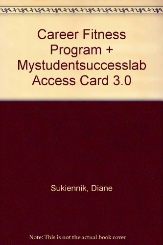 9780132864633: The Career Fitness Program: Exercising Your Options Plus NEW MyStudentSuccessLab 3.0 -- Access Card (10th Edition)