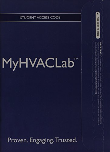 9780132864862: NEW MyHVACLab without Pearson eText -- Access Card -- for Fundamentals of HVAC/R (Myhvaclab (Access Codes))