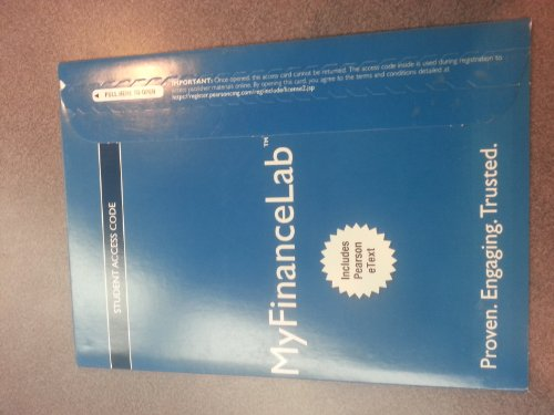 9780132865272: NEW MyFinanceLab with Pearson eText -- Access Card -- for Corporate Finance
