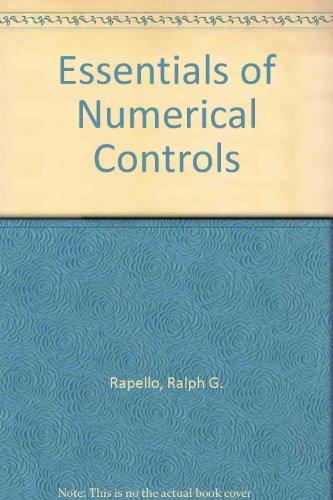 9780132865685: Essentials of Numerical Control