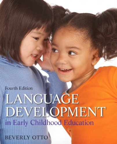 9780132867559: Language Development in Early Childhood Education (4th Edition)