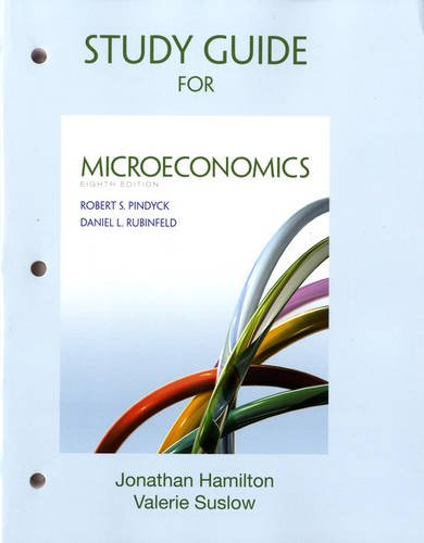 9780132870498: Study Guide for Microeconomics