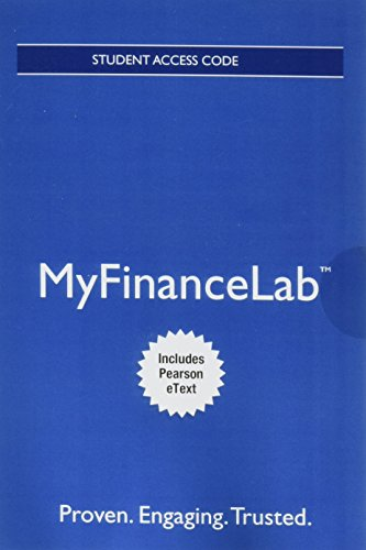 9780132870634: NEW MyFinanceLab with EText - Component Access Card