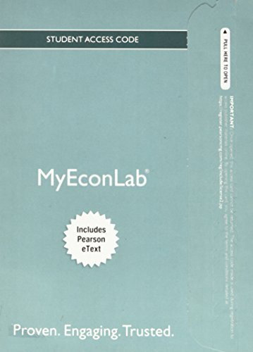 9780132871495: New MyEconLab with Pearson eText - Component Access Card (2-semester Access)