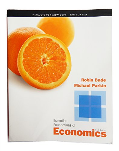 9780132872119: Essential Foundations of Economics