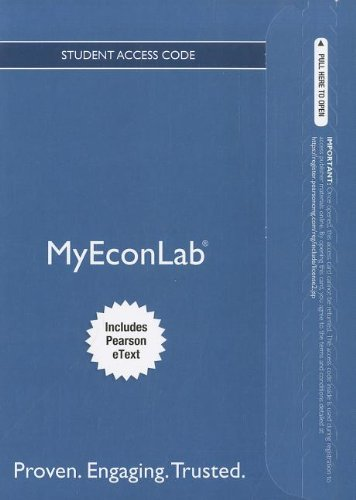 9780132872409: NEW MyEconLab with Pearson eText -- Access Card -- for Economics Today: The Micro View (MyEconLab (Access Codes))