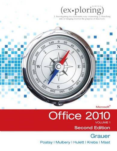 9780132873604: Exploring Microsoft Office 2010: v. 1