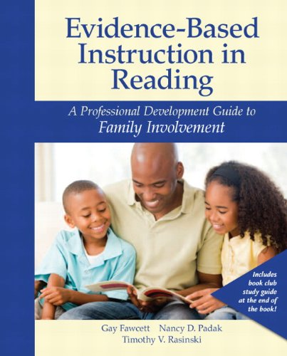9780132875424: Evidence-Based Instruction in Reading: A Professional Development Guide to Family Involvement