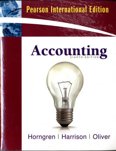 9780132879736: Accounting, Chapters 1-23, Complete Book and Myaccountinglab with Pearson Etext Package