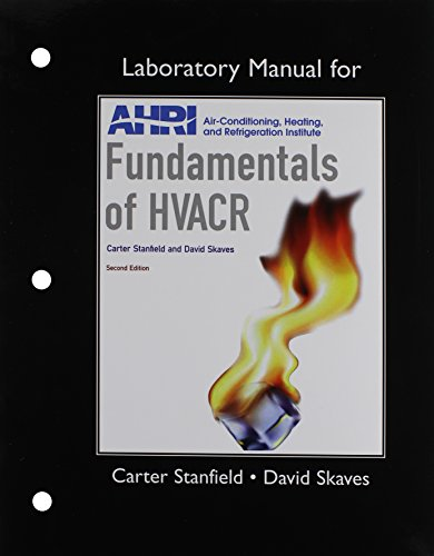 9780132879743: Lab Manual for Fundamentals of HVACR