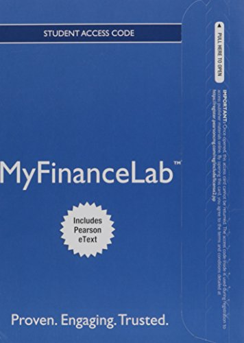 9780132880824: NEW MyFinanceLab with Pearson eText -- Access Card -- for Personal Finance
