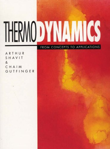 9780132882675: Thermodynamics: From Concepts to Applications
