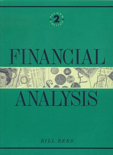9780132882835: Financial Analysis (2nd Edition)