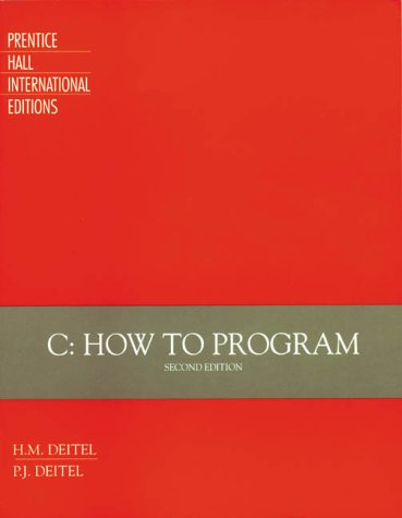 9780132883337: C: How to Program