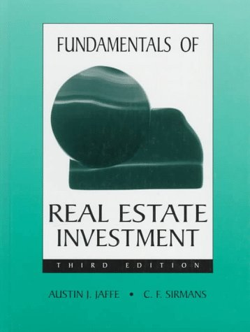 9780132883580: Fundamentals of Real Estate Investment