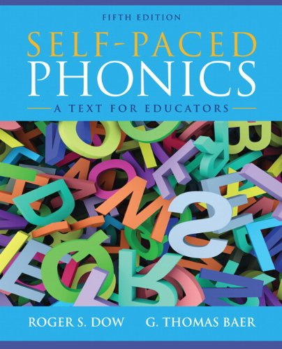 9780132883672: Self-Paced Phonics: A Text for Educators