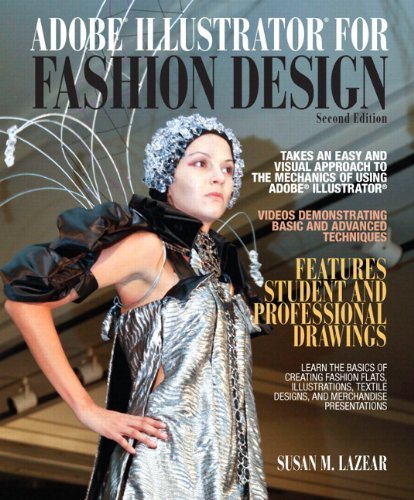 9780132885768: Adobe Illustrator for Fashion Design Plus MyFashionKit -- Access Card Package