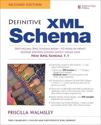 9780132886727: Definitive XML Schema