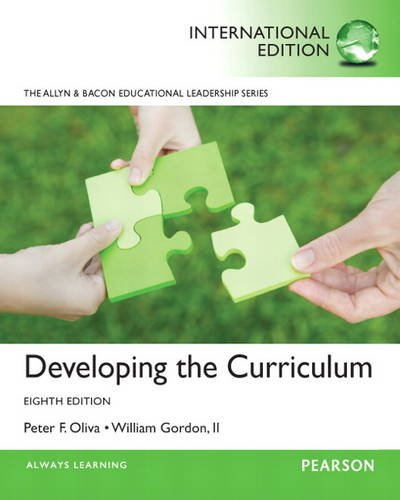 9780132888059: Developing the Curriculum