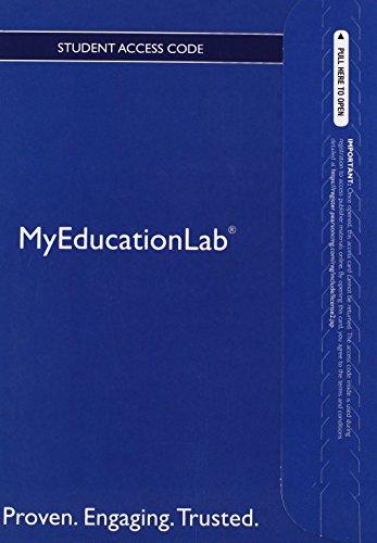 9780132888837: NEW MyEducationLab -- Valuepack Access Card