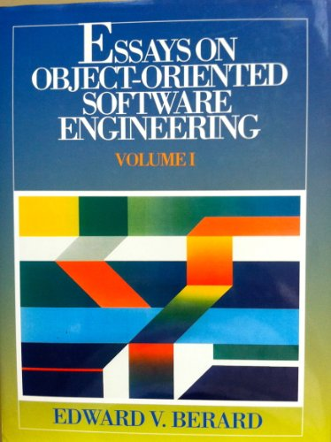 9780132888950: Essays on Object-oriented Software Engineering: v. 1