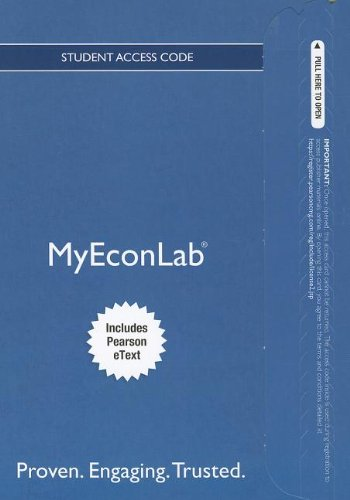 9780132889506: NEW MyEconLab with Pearson eText -- Access Card -- for The Economics of Money, Banking and Financial Markets (MyEconLab (Access Codes))