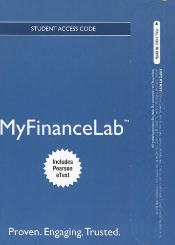 9780132889742: NEW MyFinanceLab with Pearson eText -- Access Card -- for Personal Finance: Turning Money into Wealth