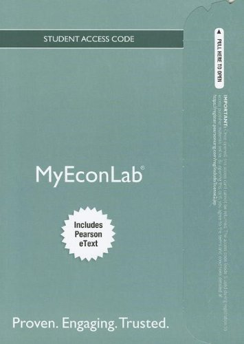 9780132892247: NEW MyEconLab with Pearson eText -- Access Card -- for Foundations of Economics (MyEconLab (Access Codes))