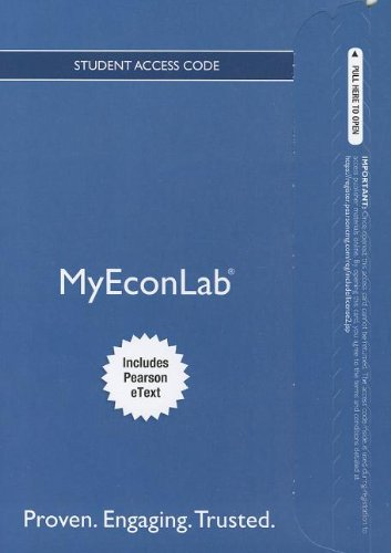 9780132892308: NEW MyEconLab with Pearson eText -- Access Card -- for Foundations of Macroeconomics (MyEconLab (Access Codes))