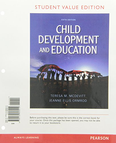 9780132893015: Child Development and Education, Student Value Edition (5th Edition)
