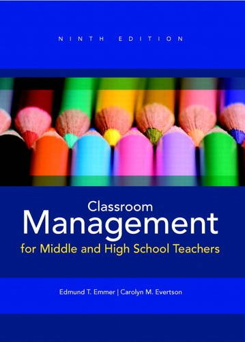 9780132893596: Classroom Management for Middle and High School Teachers Plus MyEducationLab with Pearson eText -- Access Card Package (9th Edition)