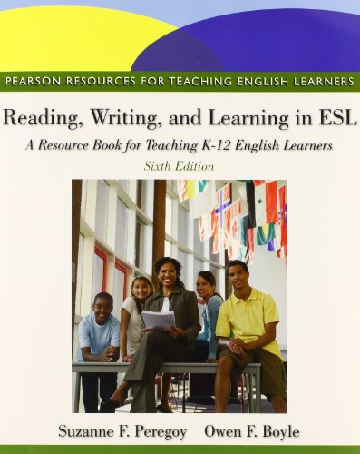 9780132893671: Reading, Writing, and Learning in ESL: A Resource Book Plus NEW MyEducationLab without Pearson eText -- Access Card Package (6th Edition)