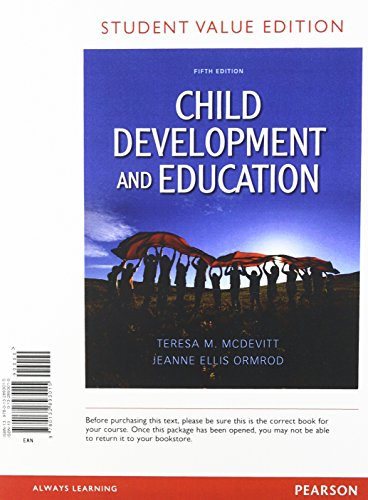 9780132893817: Child Development and Education, Student Value Edition Plus NEW MyEducationLab with Pearson eText -- Access Card Package (5th Edition)