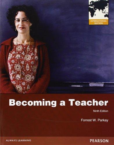 9780132899321: Becoming a Teacher: International Edition