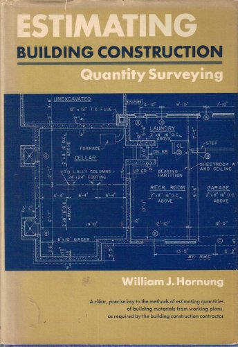 9780132899345: Estimating Building Construction: Quantity Surveying