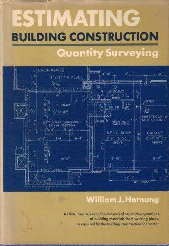9780132899345: Estimating Building Construction: Quantity Surveying