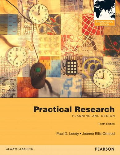 9780132899505: Practical Research: Planning and Design: International Edition