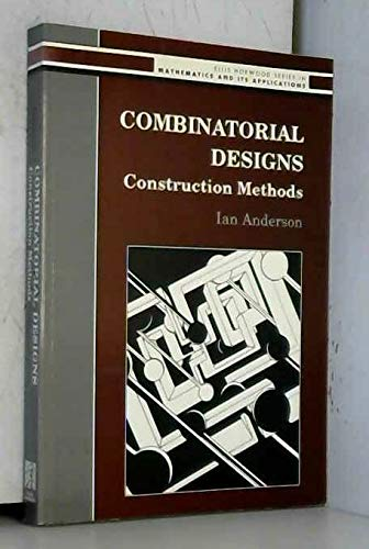 9780132899680: Combinatorial Designs: Construction Methods