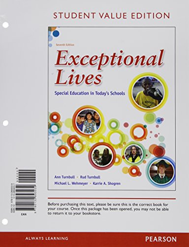 Exceptional Lives: Special Education in Today's Schools, Student Value Edition Plus NEW ...