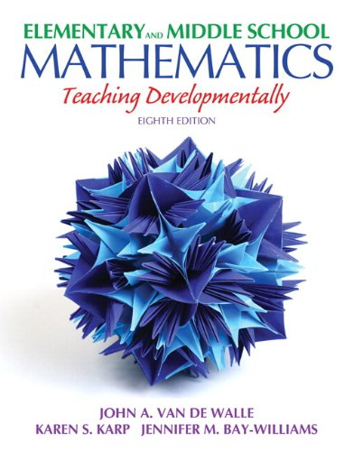 9780132900973: Elementary and Middle School Mathematics: Teaching Developmentally Plus MyEducationLab with Pearson eText -- Access Card Package (8th Edition) (Teaching Student-Centered Mathematics Series)