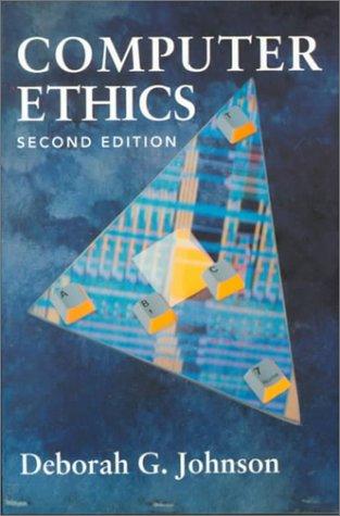9780132903394: Computer Ethics (Occupational Ethics)