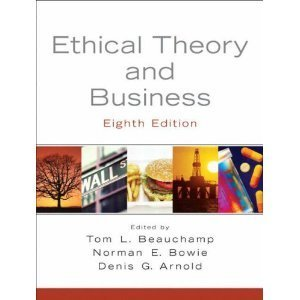 9780132903479: Ethical Theory and Business