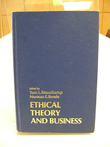9780132904605: Ethical theory and business