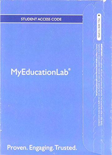 9780132909327: NEW MyLab Education with Pearson eText -- Standalone Access Card -- for Classroom Management for Middle and High School Teachers, 9th Edition