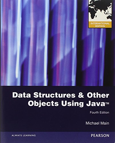 9780132911504: Data Structures and Other Objects Using Java: International Edition