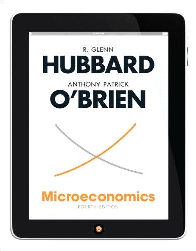 Microeconomics: Hubbard, R. Glenn/