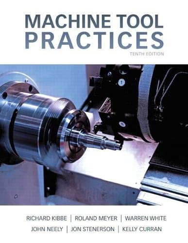 9780132912655: Machine Tool Practices (10th Edition)